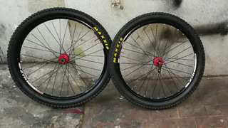 26er ztr wheel set with hope pro 2hub
