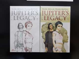 Mark Millar Jupiter's Legacy #1 + Variants