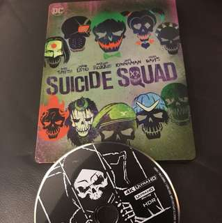 (4K Only) Suicide Squad 4K UHD Blu-ray