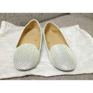 🚚 免費贈 香港帶回 專櫃品牌  COTTON ON 平底鞋 懶人鞋 娃娃鞋 休閒鞋