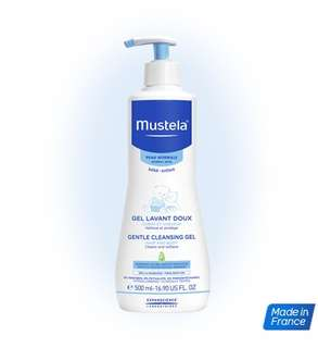 <SOLD> Mustela Gentle Cleansing Gel 500ml