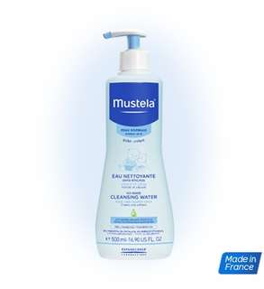 <SOLD OUT> Mustela No-rinse cleansing water 500ml