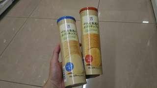 🚚 日本7-11限定薯片 兩種口味😋