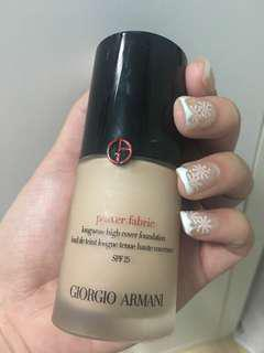 Giorgio Armani Power Fabric Foundation #3