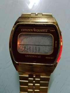 citizen no 4-096941 y 80400876 40-2061 網上説是70年代,已壞了,原因不明  老香港懷舊物品