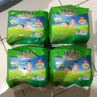 Diapers petpet day&night pants