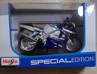 電單車模型-鈴木GSX-R750