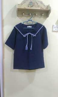Sailor style blouse/top #July70