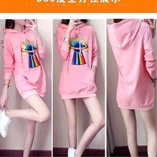 Pink Hoodie Jacket - COD
