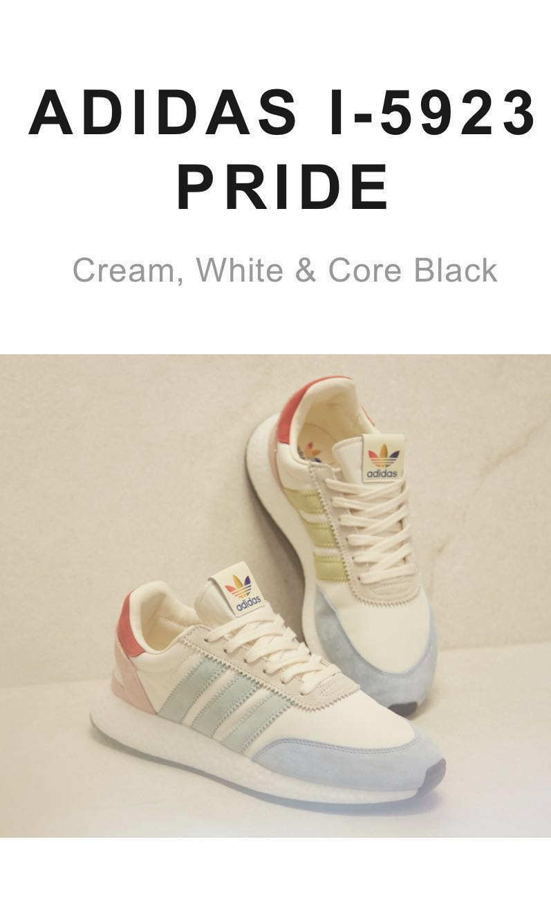 83acf3008 Adidas I-5923 Pride Shoes, Men's Fashion, Footwear, Sneakers on ...