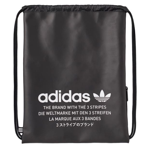 Adidas Nmd Gym String Bag Men S Fashion Bags Wallets Backpacks On Carou