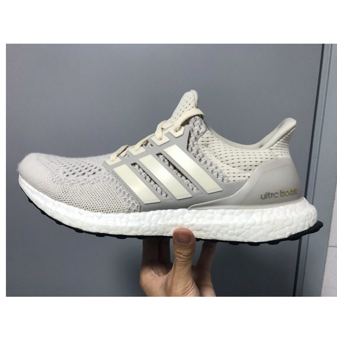 afa7484cd6713f Adidas Ultra Boost 1.0 Light Tan Cream Chalk LTD US9