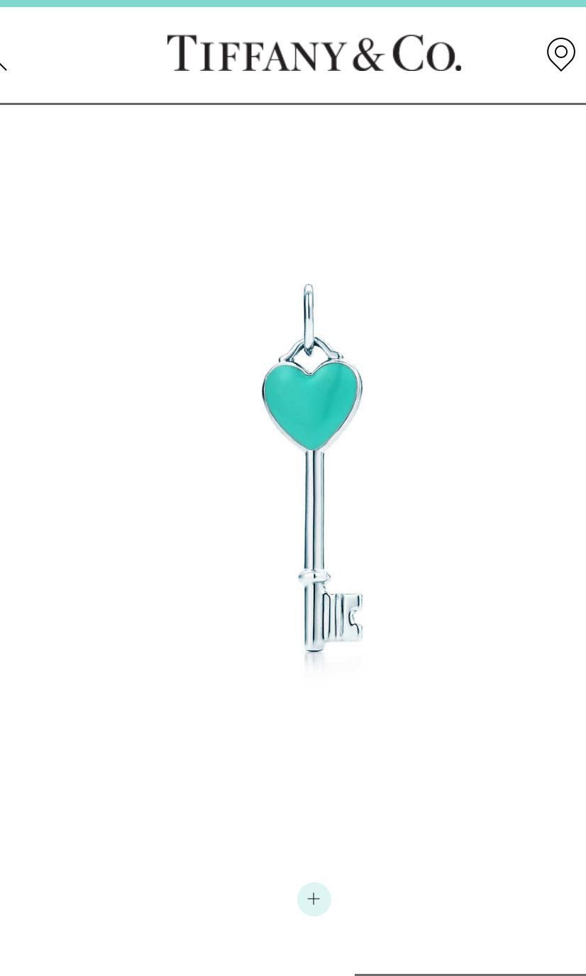 Authentic bnib tiffany co heart key necklace pendant only wo photo photo aloadofball Image collections