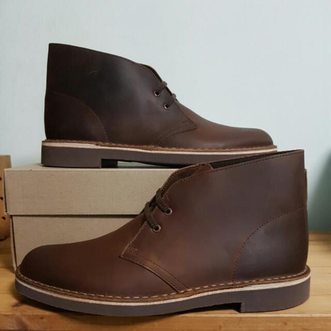 5acbb7f724da Authentic Clarks Bushacre 2 Dark Brown Desert Boots