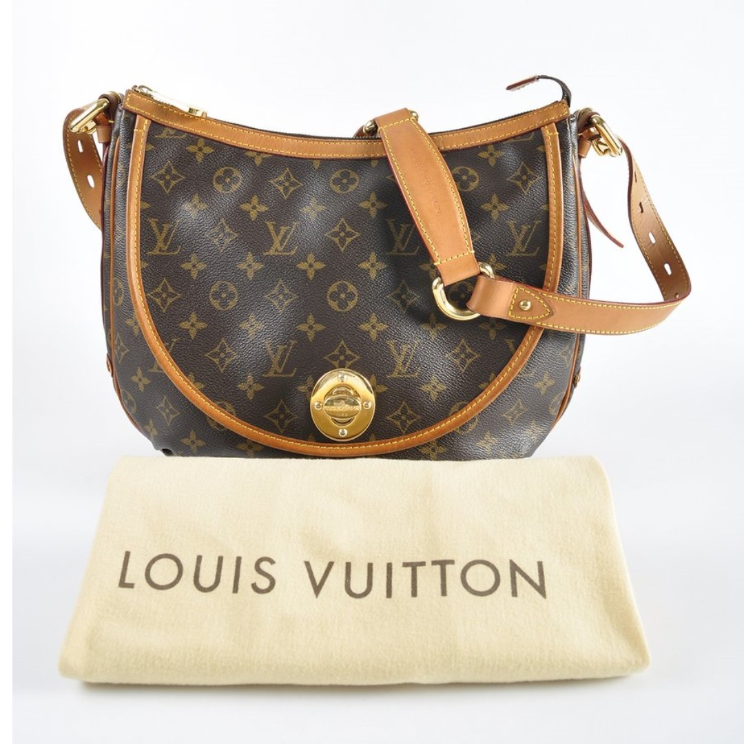 db2e698038dc AUTHENTIC Louis Vuitton Monogram Canvas Tulum GM Bag
