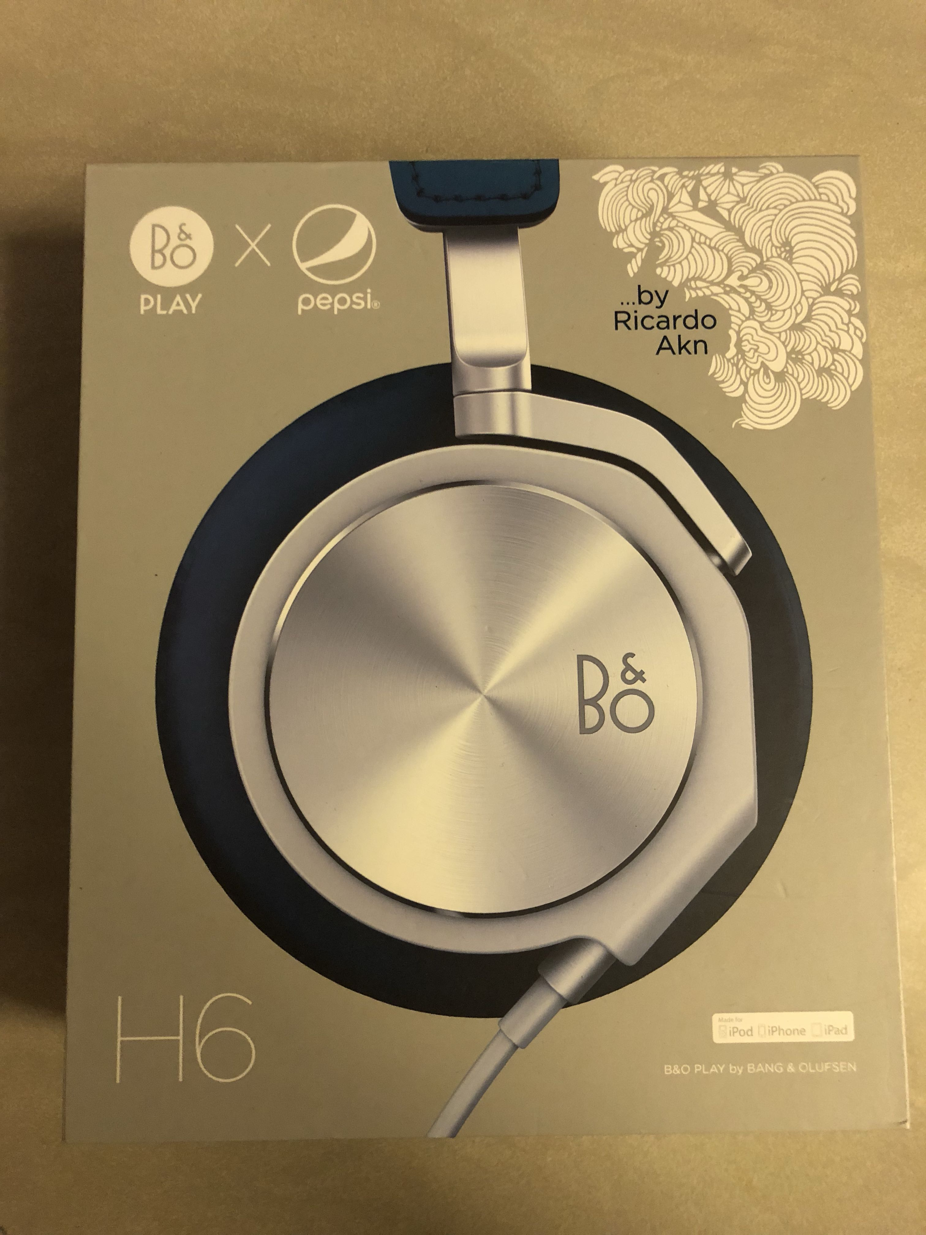 Bo Bang Olufsen Beoplay H6 Pepsi Limited Edition Electronics Ampamp H3 Lightweight Earphone Silver Audio On Carousell