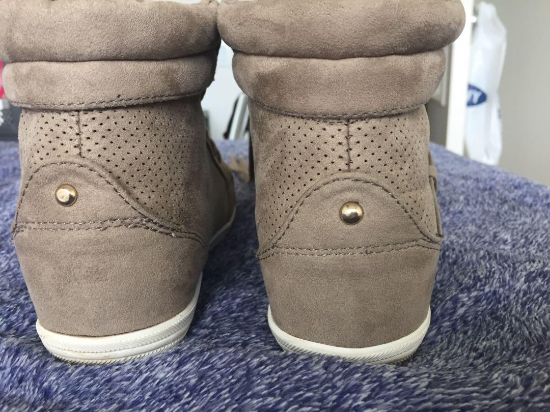 Call it Spring hightops, worn once, size women's 7