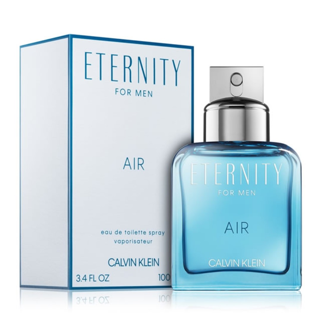 efa338a5709 CALVIN KLEIN ETERNITY AIR EDT FOR MEN, Health & Beauty, Perfumes &  Deodorants on Carousell