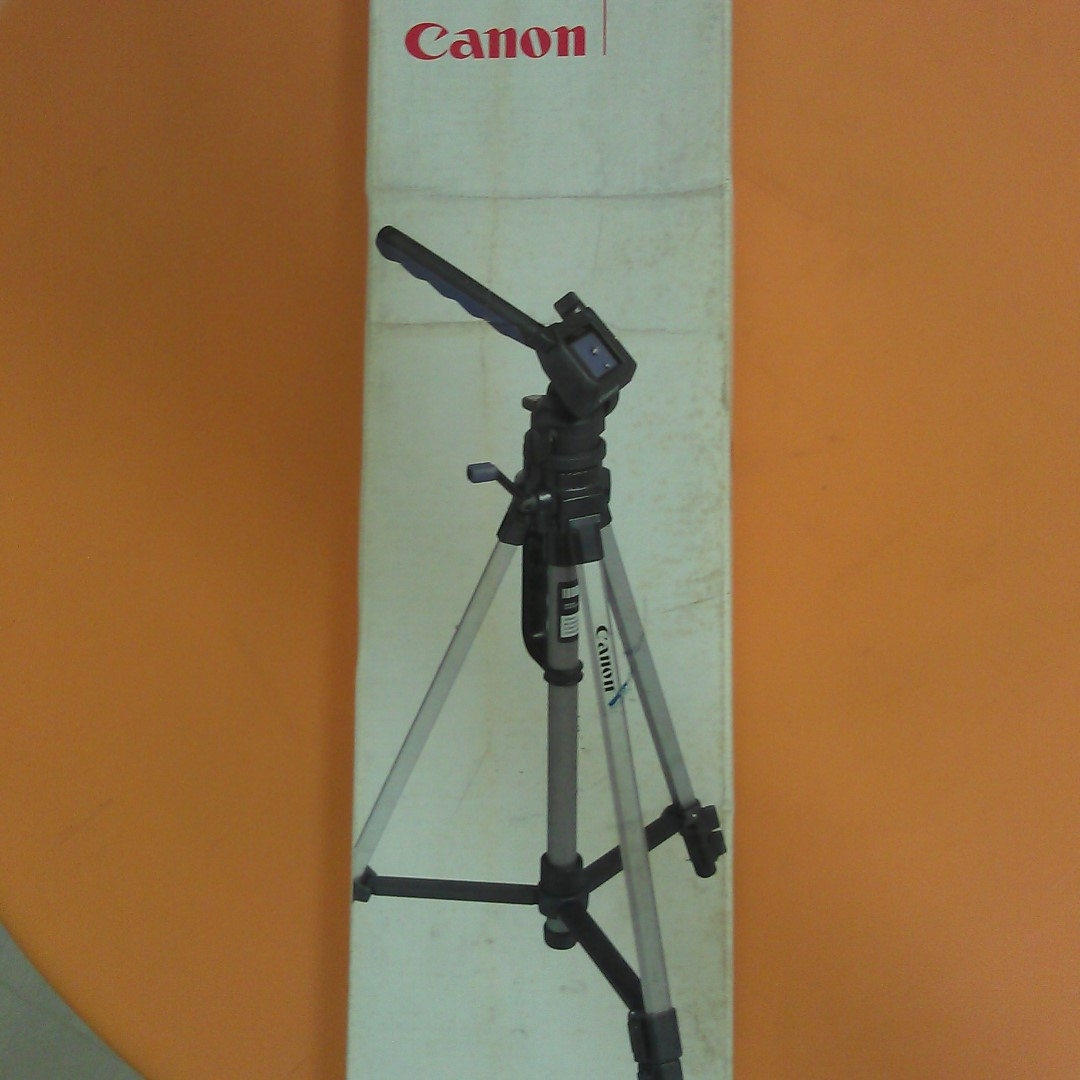 Canon Brand New Professional Tripod Stand For Phone And Camera Weifeng Portable 4 Section Aluminium Legs With Brace Photography Accessories Tripods On Carousell