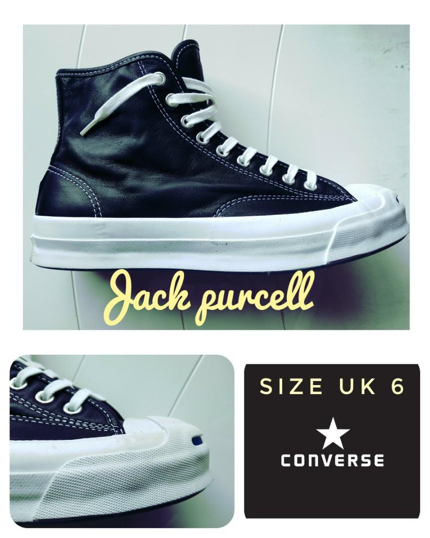 2476d501cb41e4 Converse Jack Purcell JP Signature Hi ( Leather )