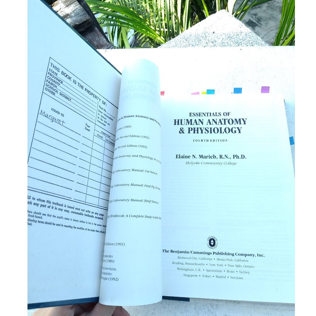 Essentials of Human Anatomy & Physiology (4TH Edition) BY Elaine N ...