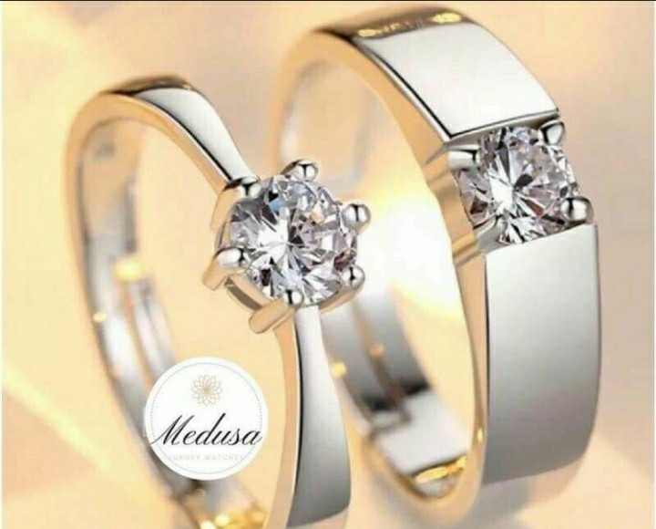 522da609df For Sale Couple Ring, Men's Fashion, Accessories on Carousell