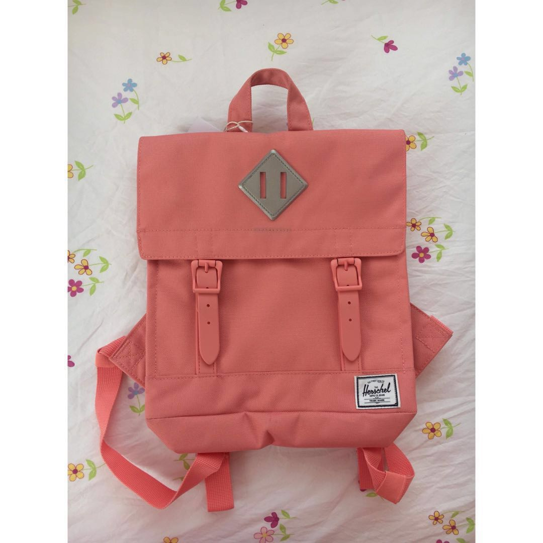 cd7afbe58a3 Herschel Survey Kids Backpack- Strawberry ice