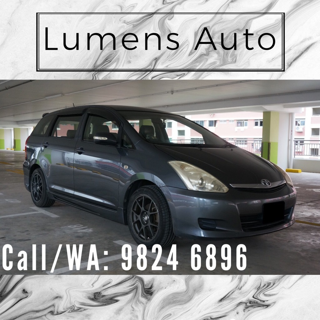 Toyota Wish - Car Rental for Grab/Uber/Personal use! Long term/Short term