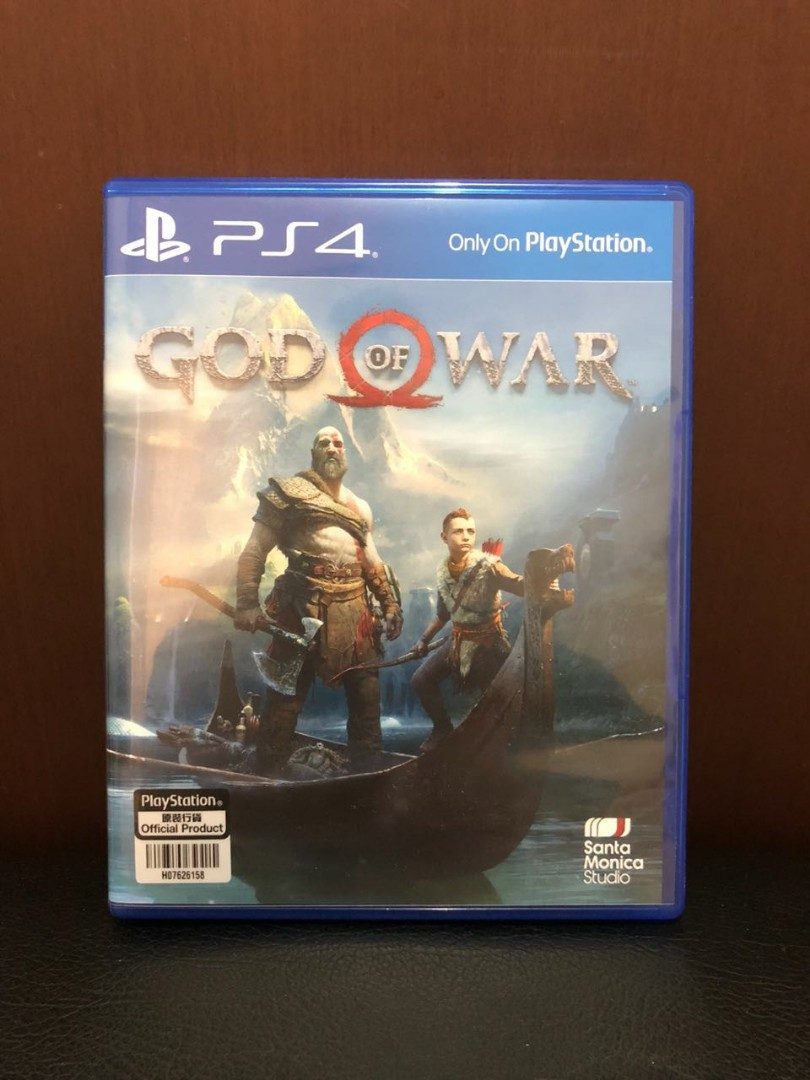Jual Muraaahh Game Ps4 God Of War R3 Dlc Utuh Video Di Dirt 4 Reg3 English Carousell
