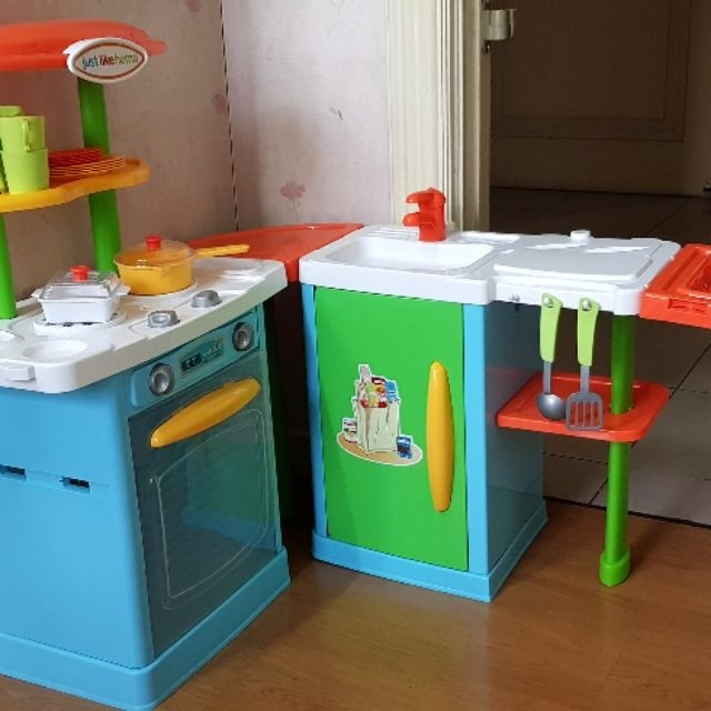 Just Like Home Complete Kitchen Set Babies Kids Toys Walkers