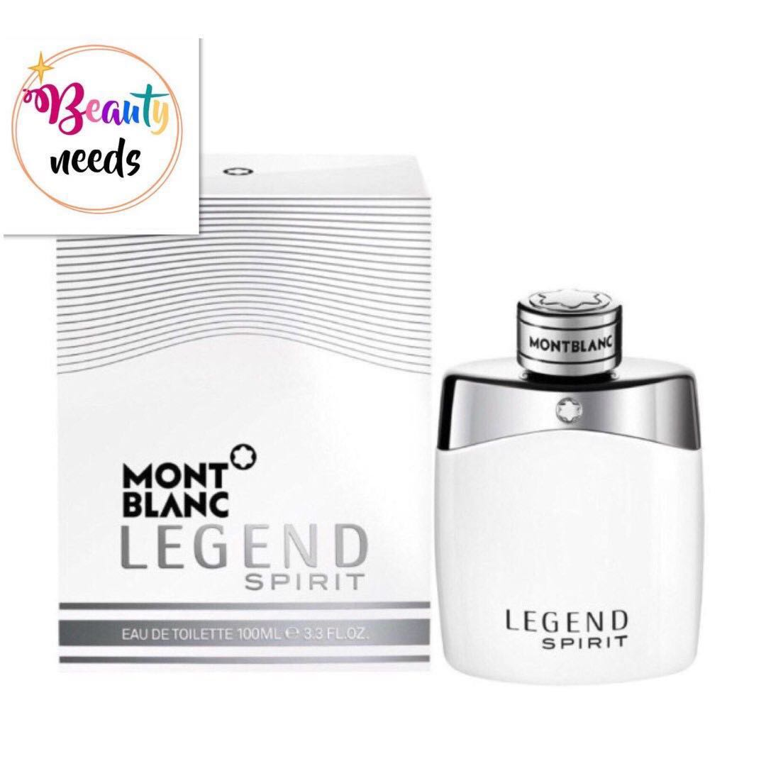 Mont Blanc Legend Spirit Edt For Him 100ml Health Beauty Be The Photo