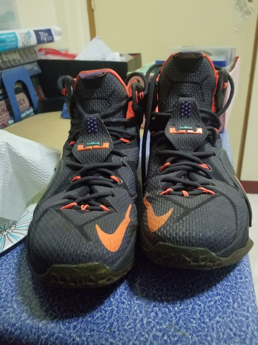 416e4f035c42 ... france nike lebron 12 instinct size us 8.5 mens fashion footwear on  carousell 0b151 c47ef