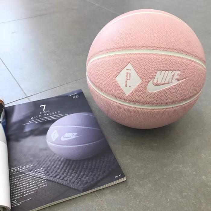 Hablar rival lechuga  Pigalle X Nike Pink Leather Basketball, Sports, Sports & Games Equipment on  Carousell