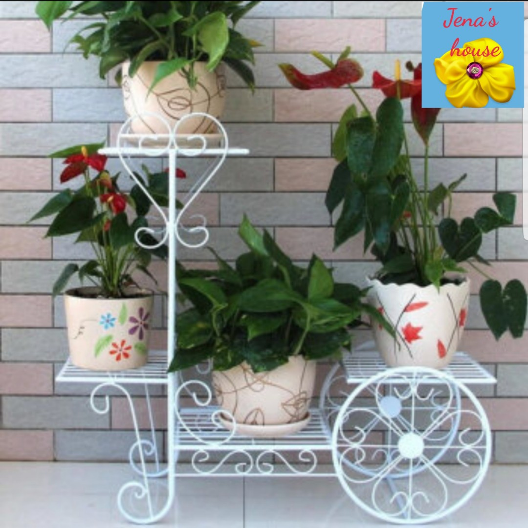 Flower Stand Designs : Instock plant stand flower stand many designs gardening pots
