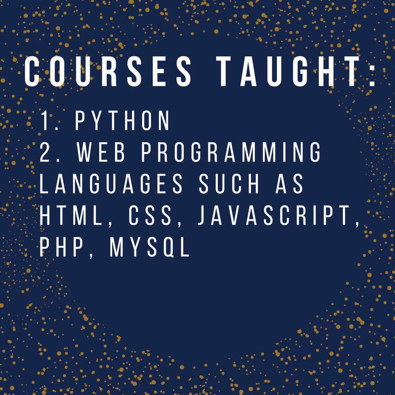 Programming Tuition