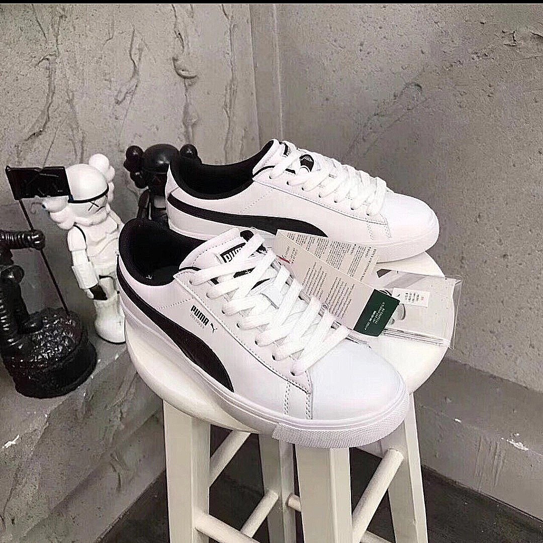 f6a152fd10d112 100%Original Korea PumaXBTS court star shoe (couple wear)