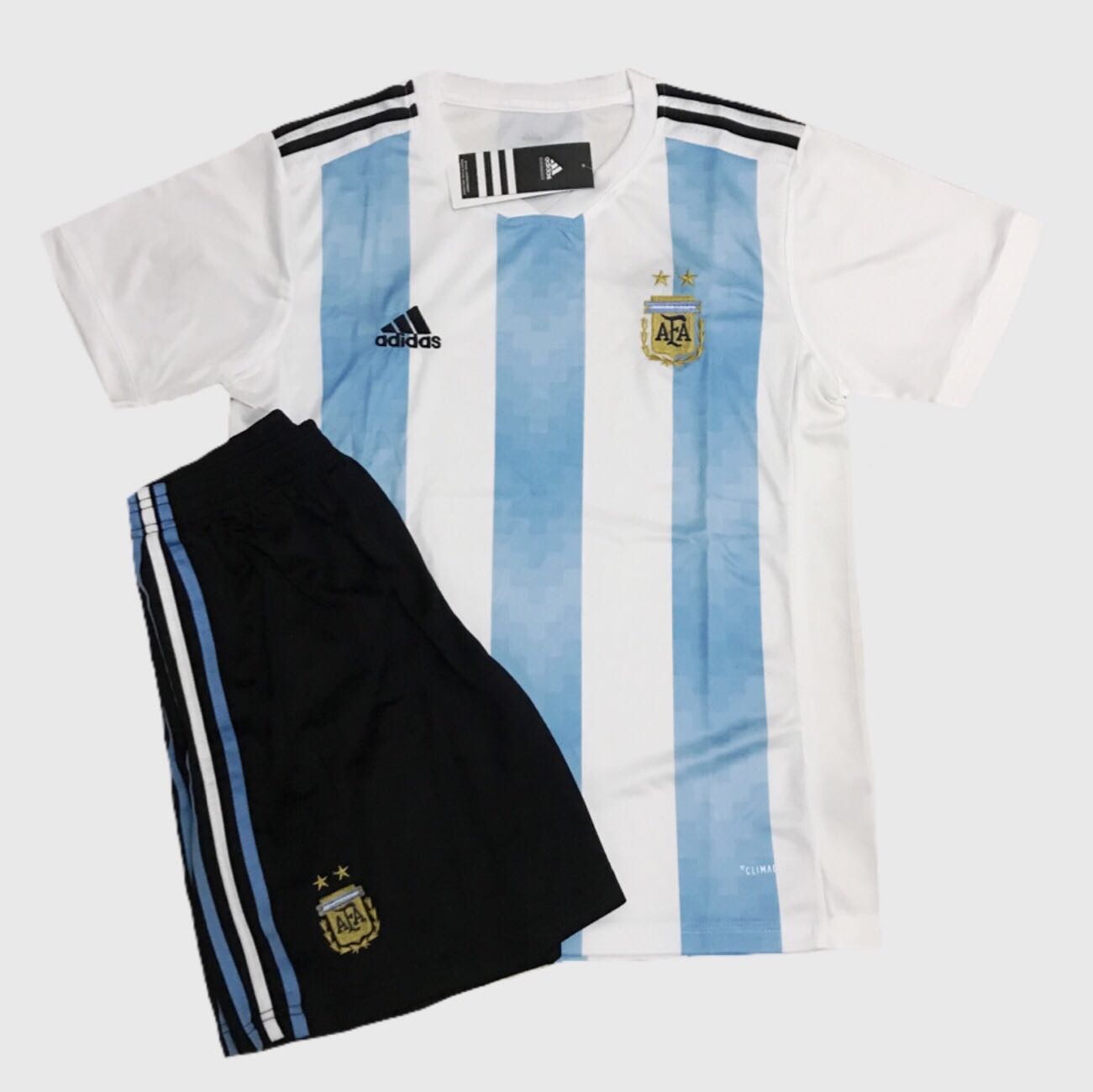 ff05b9363 ❗️SALE❗️Argentina 2018 World Cup Home Away Jersey Kit
