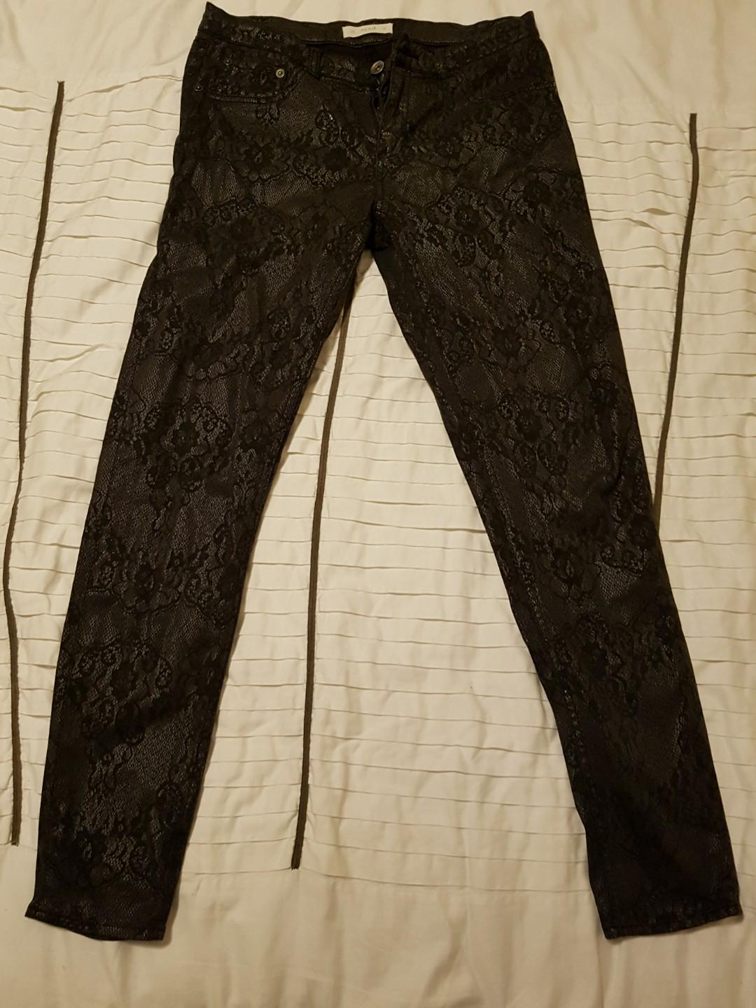 SEED Animal printed pants (size 10)