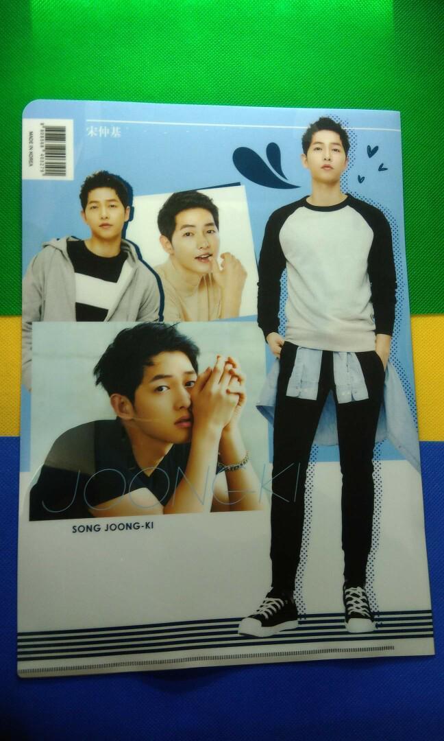 Song Joong Ki File Folder