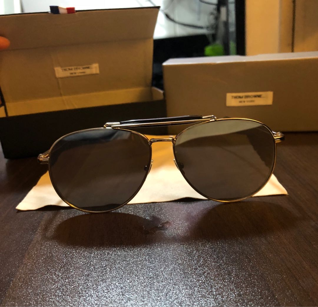 95137112cd9f Thom browne aviator shades