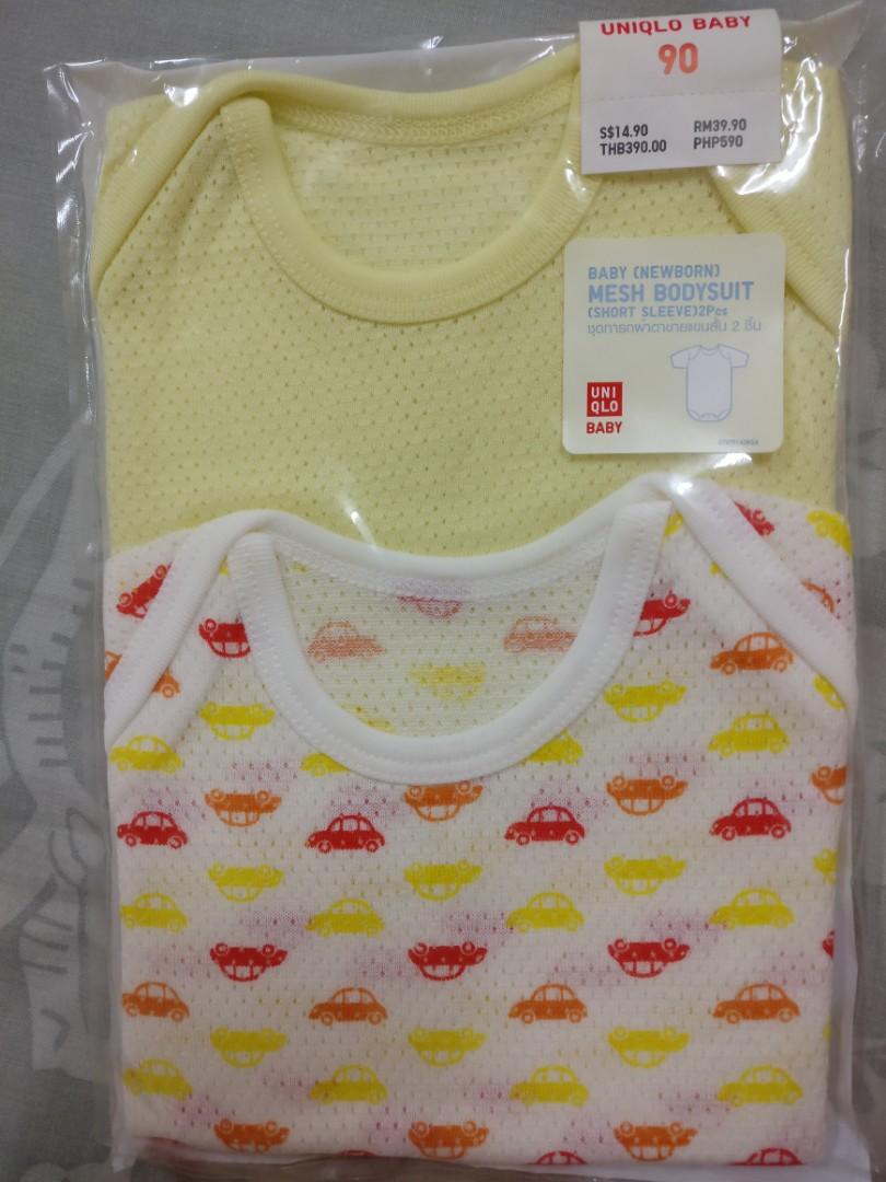 be5007f7a03 Uniqlo Baby (Newborn) Rompers 2 sets (Color  Yellow)
