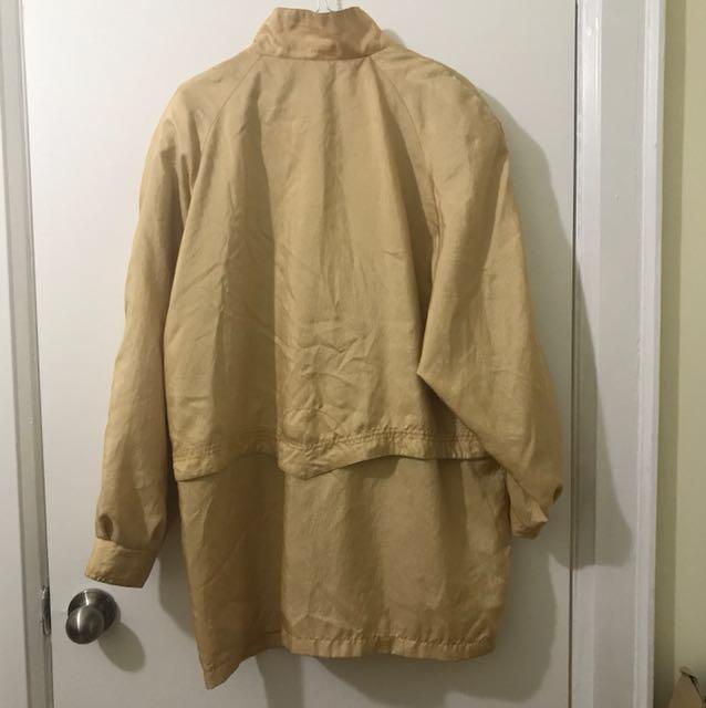 Vintage Gold Coat
