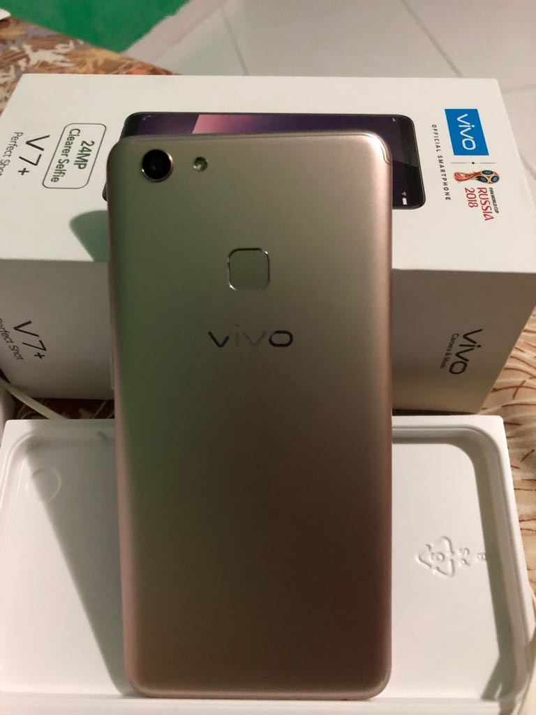 Jual Murah Vivo V7 Ndtv Gadgets360com Termurah 2018 Chronoforce 5220msb Silver Plat Putih Plus Gold Mobile Phones Tablets Android Others On Carousell