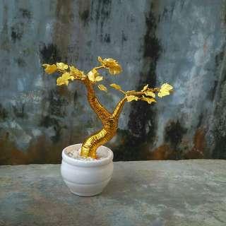 bunga akrilik, Gold Bonsai