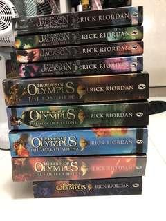 🚚 Percy Jackson + Heroes of Olympus