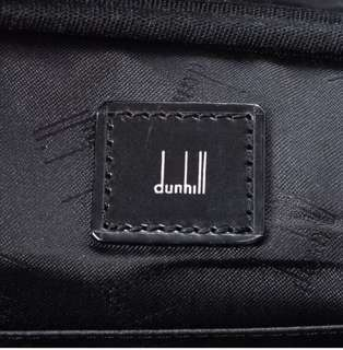 Dunhill vanity pouch canvas with card