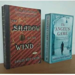 The Shadow of the Wind & The Angel's Game by Carlos Ruiz Zafón