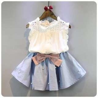 Kids Girl Skirt Set