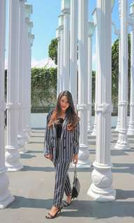 Set stripe zara look a like