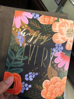 Floral gift card-happy every day